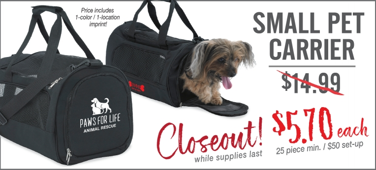 Pet Carrier closeout