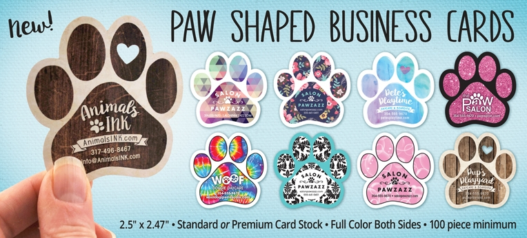 Paw Business Cards