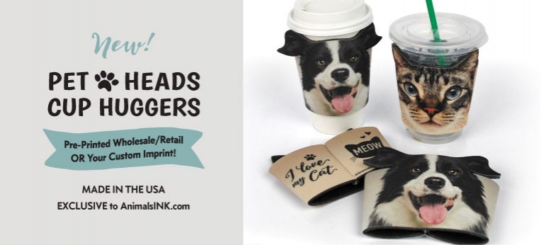 Pet Heads Cup Huggers (REAL PHOTOS)