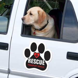 Rescue Car Door Magnets Animalsink