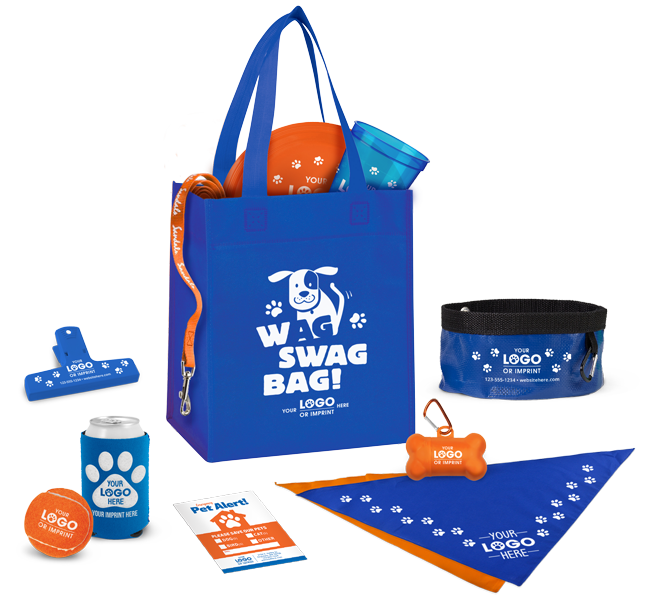 Promo Swag Bags Build Your Own Animalsink