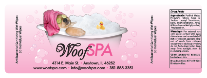 Spa Dog in Tub thumbnail