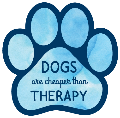 Dogs are cheaper than therapy thumbnail