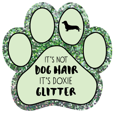 It's not dog hair, it's Doxie Glitter thumbnail