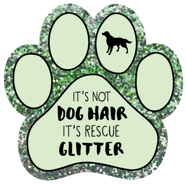 It's not dog hair, it's Rescue Glitter thumbnail