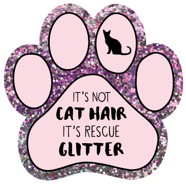 It's not cat hair, it's Rescue Glitter thumbnail