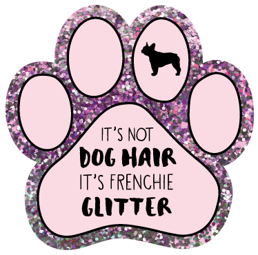 It's not dog hair, it's Frenchie glitter thumbnail