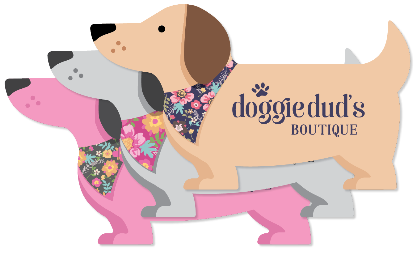 Dog with Bandana (Floral) thumbnail