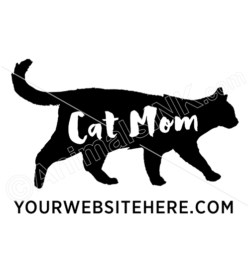 Cat Mom Silhouette thumbnail