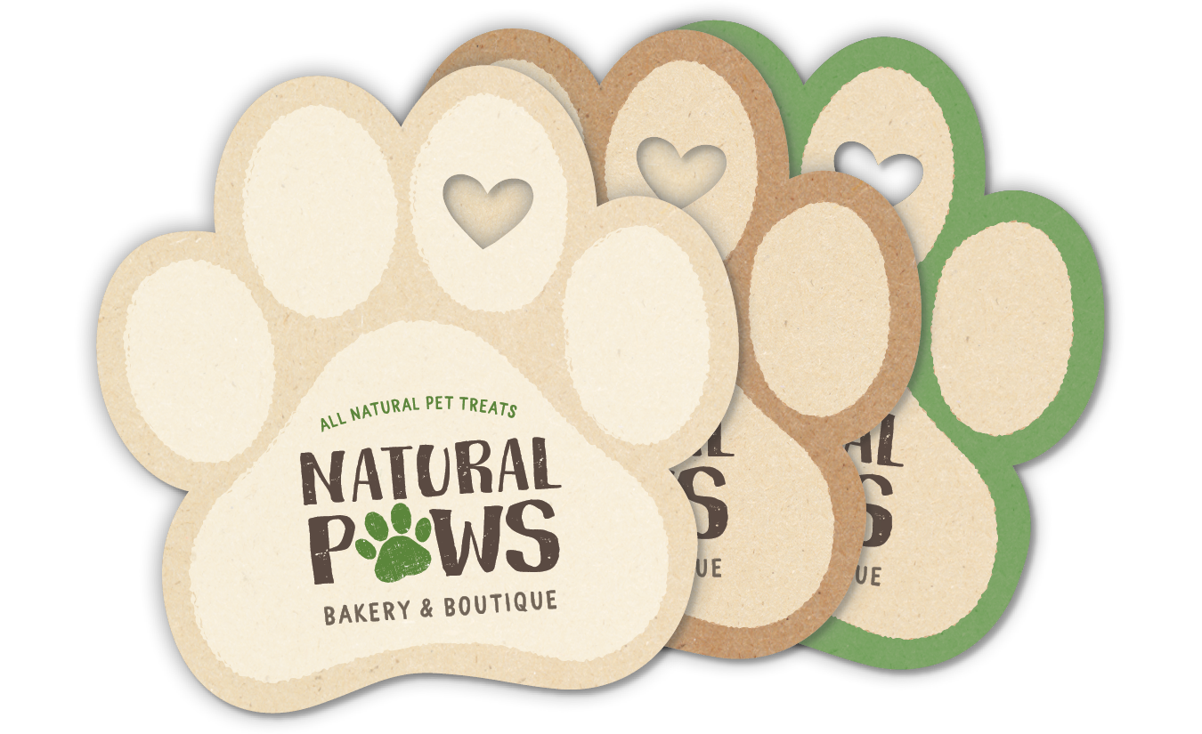 Paw with Heart - Natural/Beige thumbnail