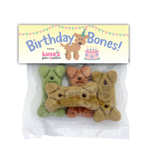 Birthday Bones - Dog and Cake thumbnail