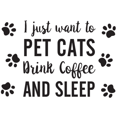 Pet Cats, Drink Coffee, and Sleep thumbnail