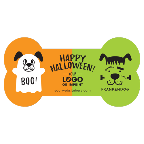 Ghost Dog and Frankendog (orange/lime) thumbnail