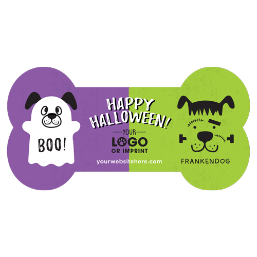 Ghost Dog and Frankendog (purple/lime) thumbnail