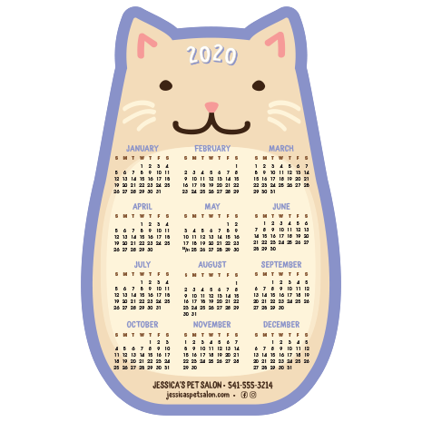 CAT Calendar - Purple thumbnail