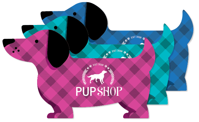 Buffalo Plaid - Dog Shape thumbnail