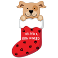 Stocking Donation Card - DOG thumbnail