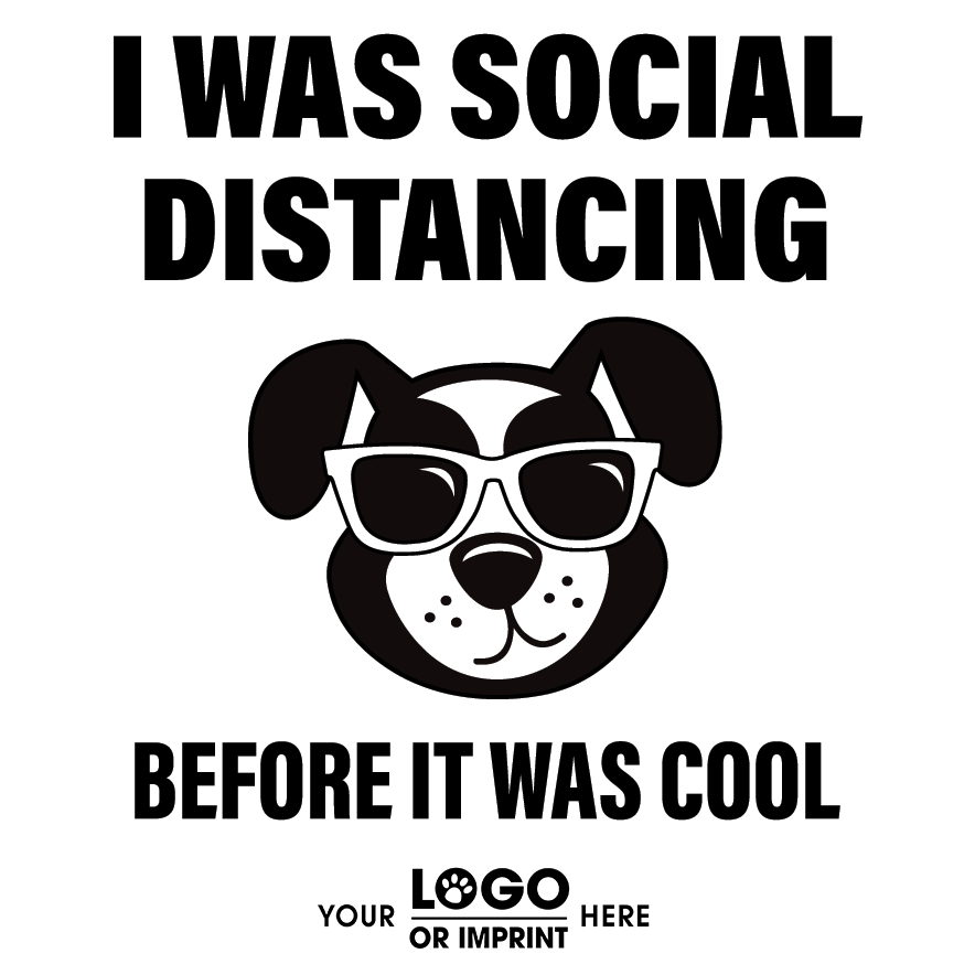 Social Distancing - DOG Sunglasses thumbnail