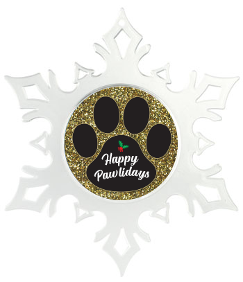 Black Paw on Gold Glitter thumbnail